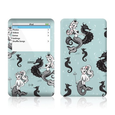 iPod Video (5G) Skin - Vintage Mermaid