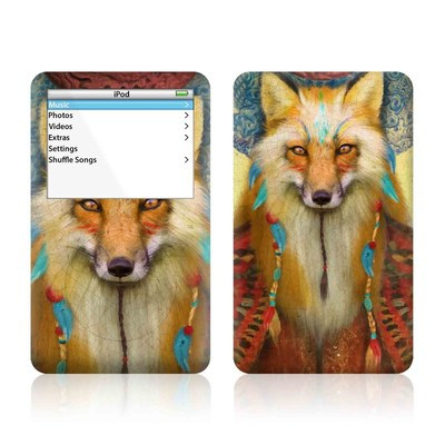 iPod Video (5G) Skin - Wise Fox