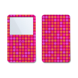 iPod Video (5G) Skin - Pink Dots