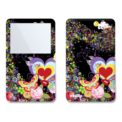 iPod Video (5G) Skin - Flower Cloud