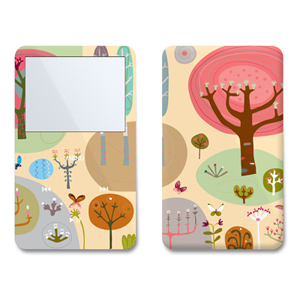 iPod Video (5G) Skin - Forest