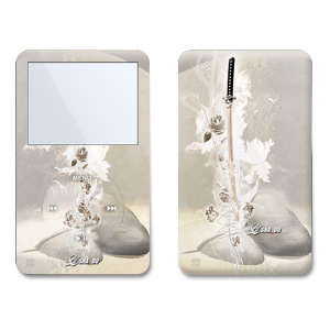 iPod Video (5G) Skin - Katana Gold