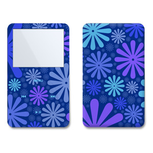 iPod Video (5G) Skin - Indigo Punch