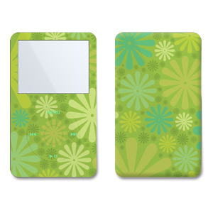 iPod Video (5G) Skin - Lime Punch
