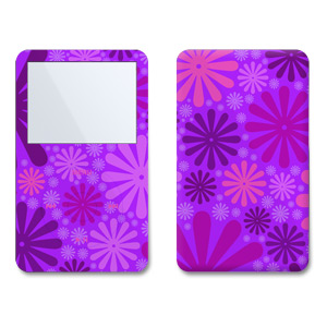 iPod Video (5G) Skin - Purple Punch