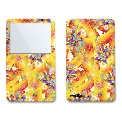 iPod Video (5G) Skin - Wall Flower