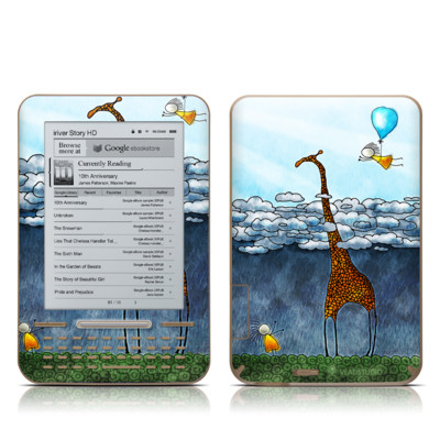 iRiver Story HD E-Reader Skin - Above The Clouds