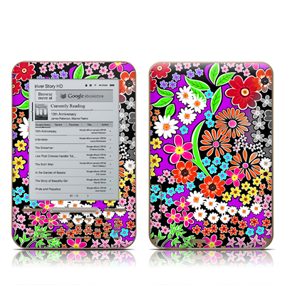 iRiver Story HD E-Reader Skin - A Burst of Color