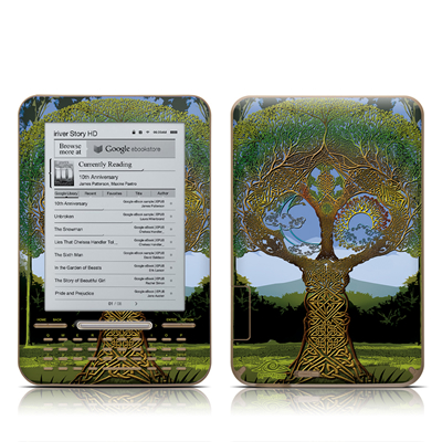 iRiver Story HD E-Reader Skin - Celtic Tree
