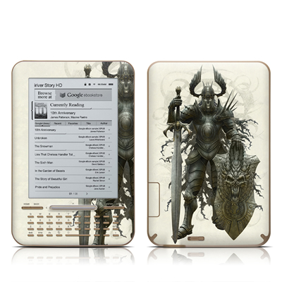 iRiver Story HD E-Reader Skin - Dark Knight