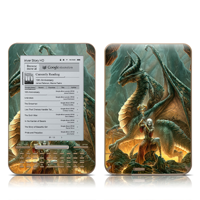 iRiver Story HD E-Reader Skin - Dragon Mage