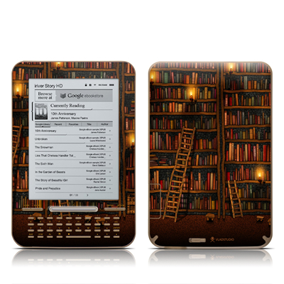 iRiver Story HD E-Reader Skin - Library
