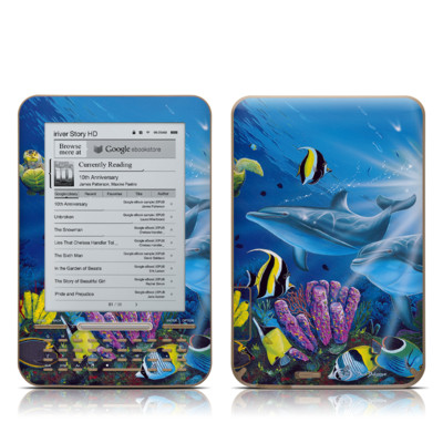 iRiver Story HD E-Reader Skin - Ocean Friends