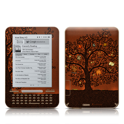 iRiver Story HD E-Reader Skin - Tree Of Books
