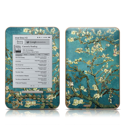 iRiver Story HD E-Reader Skin - Blossoming Almond Tree