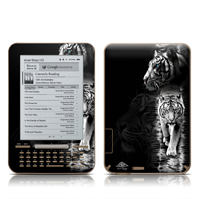 iRiver Story HD E-Reader Skin - White Tiger