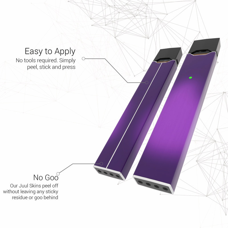 Juul Vape Skin - Purple Burst