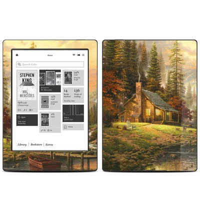 Kobo Aura H20 Skin - A Peaceful Retreat