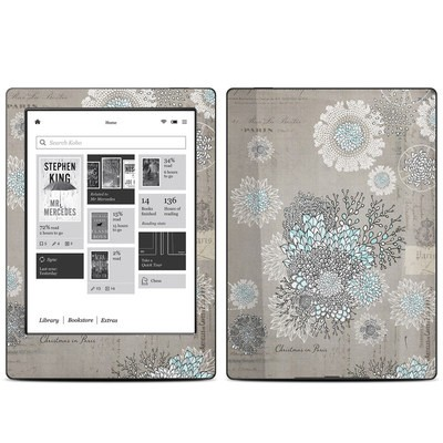 Kobo Aura H20 Skin - Christmas In Paris