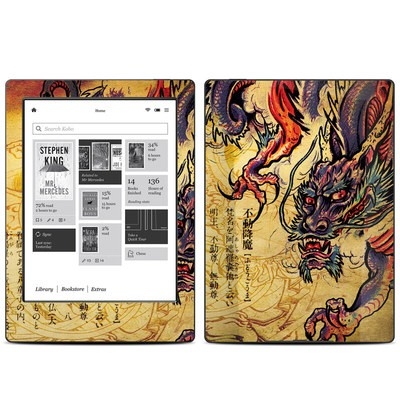 Kobo Aura H20 Skin - Dragon Legend