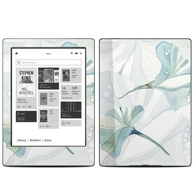 Kobo Aura H20 Skin - Floating Gingko