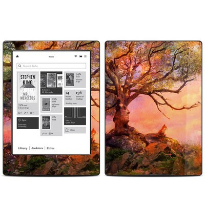 Kobo Aura H20 Skin - Fox Sunset