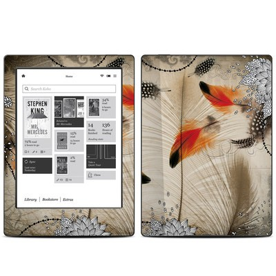 Kobo Aura H20 Skin - Feather Dance