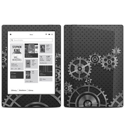 Kobo Aura H20 Skin - Gear Wheel