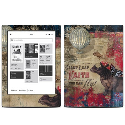 Kobo Aura H20 Skin - Leap Of Faith