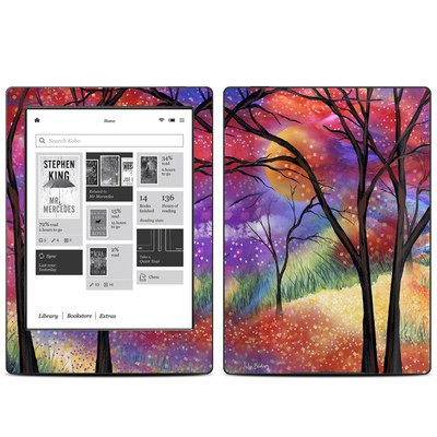 Kobo Aura H20 Skin - Moon Meadow