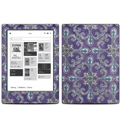 Kobo Aura H20 Skin - Royal Crown