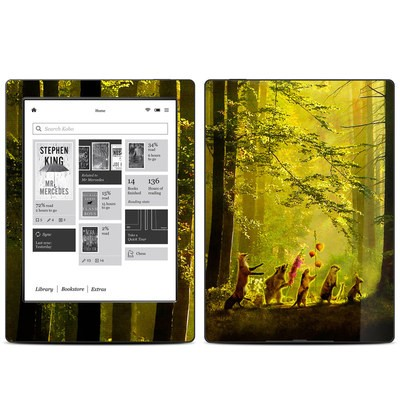 Kobo Aura H20 Skin - Secret Parade