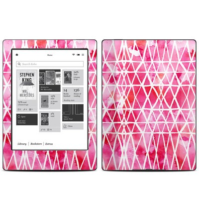 Kobo Aura H20 Skin - Stained Glass