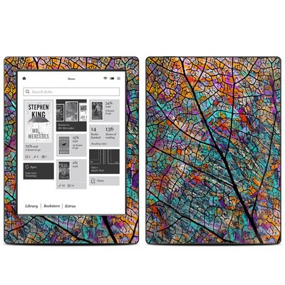Kobo Aura H20 Skin - Stained Aspen