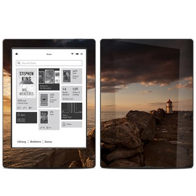Kobo Aura H20 Skin - Sunset Beacon