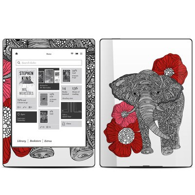 Kobo Aura H20 Skin - The Elephant