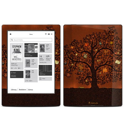 Kobo Aura H20 Skin - Tree Of Books