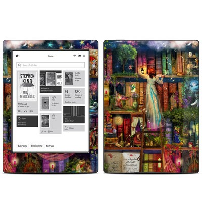 Kobo Aura H20 Skin - Treasure Hunt