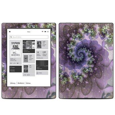 Kobo Aura H20 Skin - Turbulent Dreams