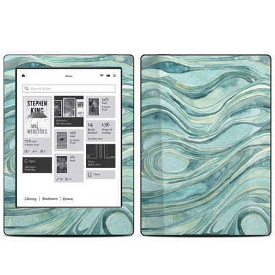 Kobo Aura H20 Skin - Waves