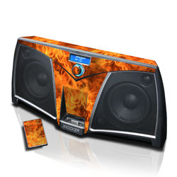 KICKER K500 Skin - Combustion
