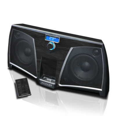 KICKER K500 Skin - Black Woodgrain