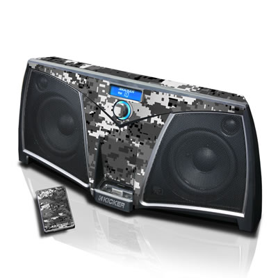 KICKER Dock Skin - Digital Urban Camo