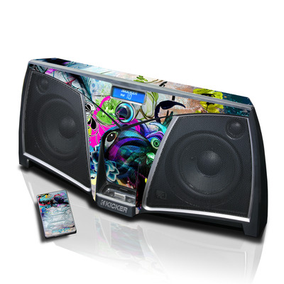 KICKER K500 Skin - Streaming Eye