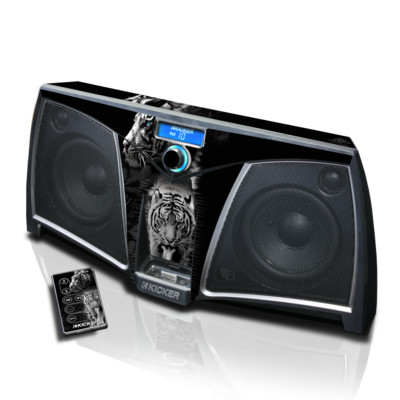 KICKER K500 Skin - White Tiger