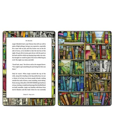 Kobo Aura One Skin - Bookshelf