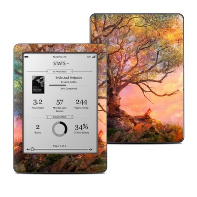 Kobo Glo Skin - Fox Sunset