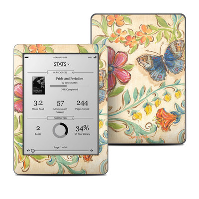 Kobo Glo Skin - Garden Scroll