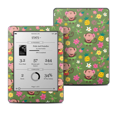 Kobo Glo Skin - Hula Monkeys