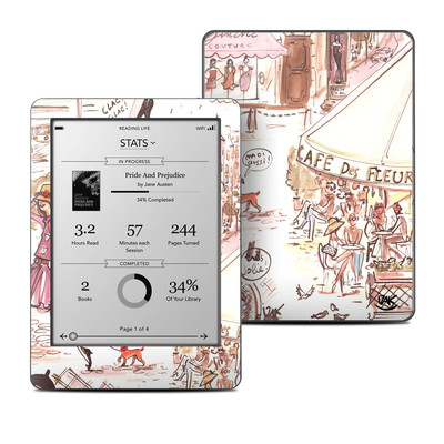 Kobo Glo Skin - Paris Makes Me Happy